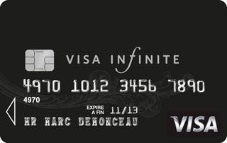 carte VISA Infinite